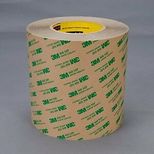 468mp Adhesive Transfer Tape 2 In X 60 Yd Clear pack Of 6