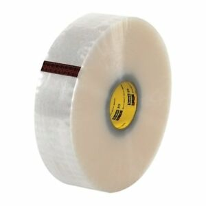 Scotch T9033373 Clear 373 Carton Sealing Tape 3 X 1000 Yd pack Of 4