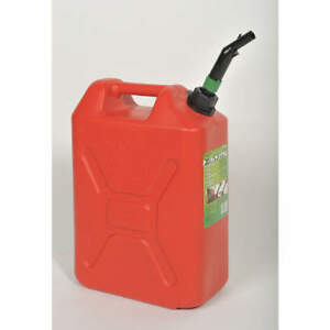 Grainger Approved Plastic Fuel Can 5 Gal 05086