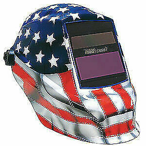 Sellstrom Welding Helmet shade 9 To 13 S41200gl 611 Blue red white