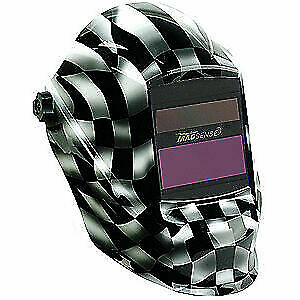 Sellstrom Welding Helmet shade 9 To 13 black white S41200wc 611 Black white