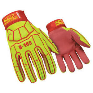 Ringers Gl Impact Gloves 2xl synthetic Leather pr 169 12 High Visibility Green
