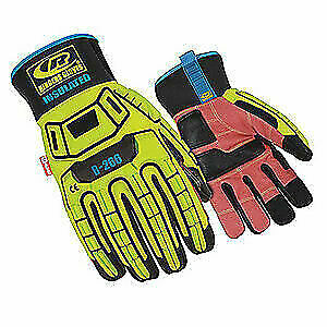 Ringers Gloves Glove impact Resistant m hi vis pr 266 09 High Visibility Green
