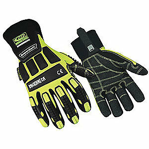 Ringers Gloves Glove ir kevloc 3xl hivis pr 297 13 High Visibility Green