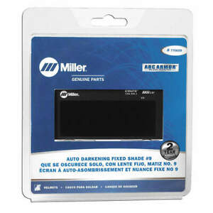 Miller Electric Welding Lens 2 X 4 In 9 auto darkening 770659