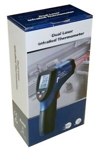 Dt 8865 Infrared Ir Thermometer Gun Dual Laser 1832 F 30 1 Temperature Meter New
