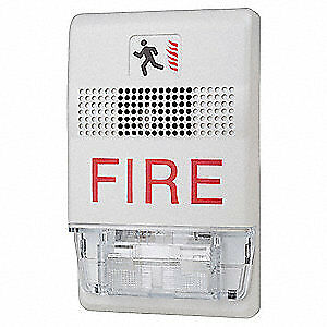 Edwards Signaling Ceiling Strobe marked Fire white Egcf vmh