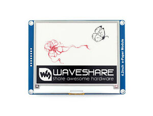 Waveshare 400x300 4 2inch E ink Display Module Three color Epaper Spi Interface