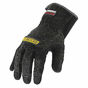 Ironclad Men s Heat Resistant Gloves Black Medium Kevlar r