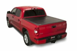 Bakflip Fibermax Truck Bed Cover For 07 18 Toyota Tundra 6ft 6in W Deckrailsys