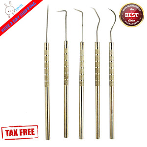 Vinyl Weeding Pick Tools 5pc Stainless Steel Professional Sign Signmaking Usa