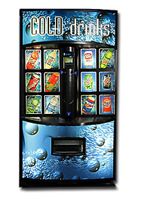 Vendo 721 Soda Machine