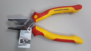 Linesmans Pliers Combination Cutters Insulated 1000 Volt Wiha