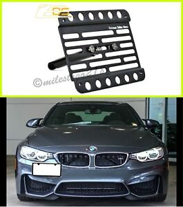 Bmw F82 F83 M4 Only For 15 up Front Bumper Tow Hook Mount License Plate Bracket