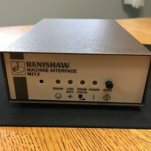 New Renishaw Mi12 Kit Machine Interface A2075014207 With Manual