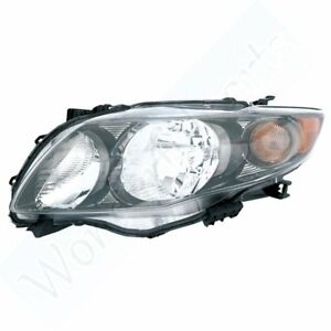 For Toyota 2009 2010 Corolla S Xrs Light Head Driver Side Lamp Replacing