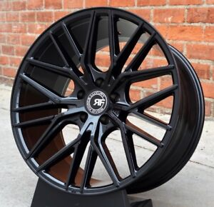 22 Rf13 Concave Gloss Black Wheels Rims For Bmw F06 F12 F13 640 650 Gran Coupe