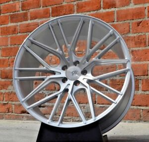 22 Rf13 Concave Silver Wheels Rims For Bmw F06 F12 F13 640 650 Gran Coupe