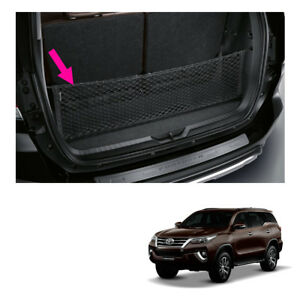 Fits Toyota Fortuner Suv 15 17 2018 Rear Trunk Cargo Net Genuine Black
