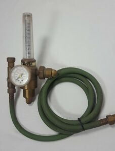 Victor Hrf 2325 Argon Carbon Dioxide Regulator Flow Meter Gauge Mig Tig Welding
