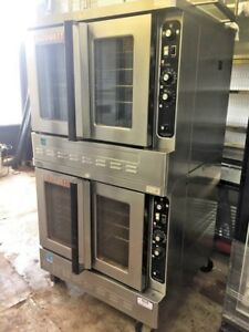 Blodgett Double Stack Convection Natural Gas Oven Dfg 100 3 s