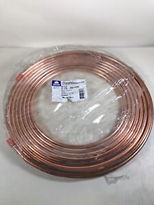 Streamline Mueller 3 8 50 Copper Coil Tubing Air Conditioning New In Packaging