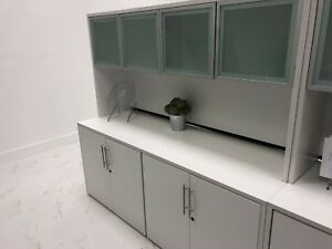 Office Furniture credeza Filing Cabinet With Hutch
