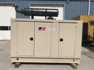 _100 Kw Mtu Generator Set 12 Lead Reconnectable Sound Attenuated 120 240 V