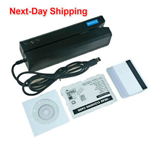 Msr605x Magnetic Stripe Credit Card Reader Writer Encoder Magstrip Msr605 Msr606