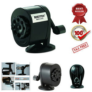Antimicrobial Manual Pencil Sharpener Table Mount Wall Mount Stanley Bostitch