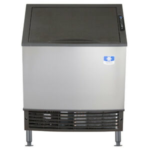 26 Air Cooled Undercounter Dice Cube Ice Machine With 90 Lb Bin 115v 135 Lb