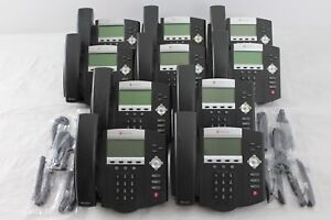 Lot Of 10 Polycom Soundpoint Ip 450 Ip450 Sip 2201 12450 001 Phones