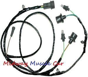 Stepside Rear Body Tail Light Lamp Wiring Harness Chevy Gmc Pickup Truck 79 84