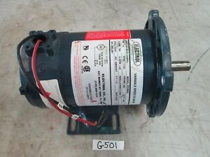 Electrol Variable Speed D c Motor 1 4 Hp P n M 4612abnv Rpm 1725 new