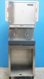 Scotsman Nugget Ice water Touchfree Dispenser With Stand Air cooled Production