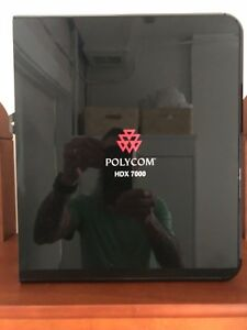 Polycom Hdx7000 Video Conference System Camera Mic Remote Cables Included
