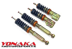 Yonaka 93 99 Volkswagen Golf Gti Jetta Mk3 A3 Lowering Adjustable Coilovers