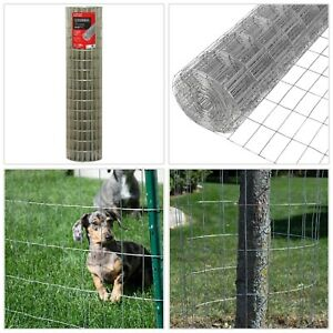 Fencing Outdoor 14gauge Welded Wire Security Roll Divider Mesh Barrier 5ftx100ft