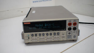 Keithley 2430 c Pulse Sourcemeter 100v 10a 1kw W Contact Check W gpib