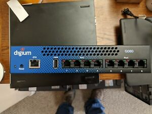 Digium G080 8 Port Analog Fxs 1ga080f Ordered Incorrect Open Box Never Used