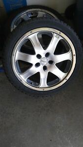 Used 18 Inch Moda Rims And Dunlop Tires X Large