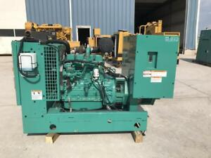 __50 Kw Cummins Onan Generator Set 12 Lead Reconnectable Low Hours