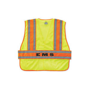 Ergodyne Safety Vest hi Vis Green inc Cmnd m l 21394 ems