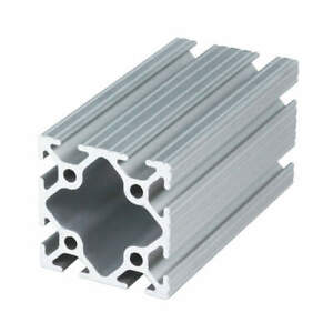 80 20 Aluminum 6105 t5 Extrusion t slotted 10s 72 In L 2 In W 2020 72