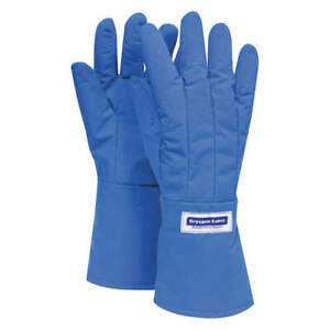 National Safety Apparel Waterproof Cryogenic Gloves elbow pr G99crbeplgma Blue