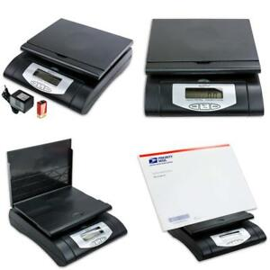 Weighmax 75 Lbs Digital Shipping Postal Scale Black w 4819 75 Black New