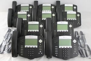Lot Of 10 Polycom Soundpoint Ip 550 Ip550 Sip 2201 12550 001 Phones