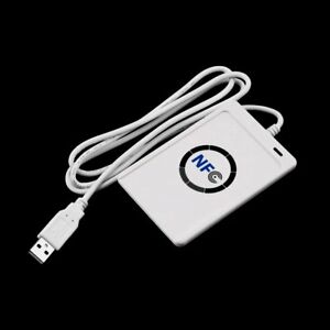 Contactless Smart Reader Nfc Acr122u Rfid writer usb 5xfor Mifare Ic Card cd