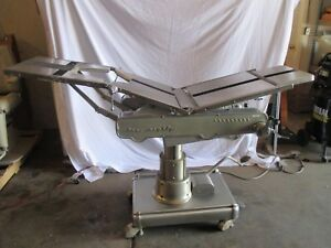 Surgical Operating Table Amsco 1080 Pre Owned
