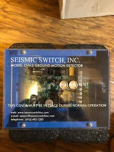 New Seismic Switch Model Chv 2 Earthquake Detector Monitor Ground Motion